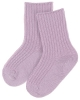 JOHA vlněné ponožky fialkové