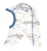 JOHA merino/bambus kukla kabinková lanovka  modrá