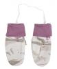 JOHA merino/bambus rukavičky kabinková lanovka růžová