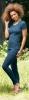 Merino tričko krátký rukáv safír
