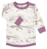 JOHA merino/bambus tričko kabinková lanovka  růžová