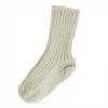 JOHA vlněné ponožky smetanové