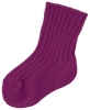 JOHA vlněné ponožky vínové